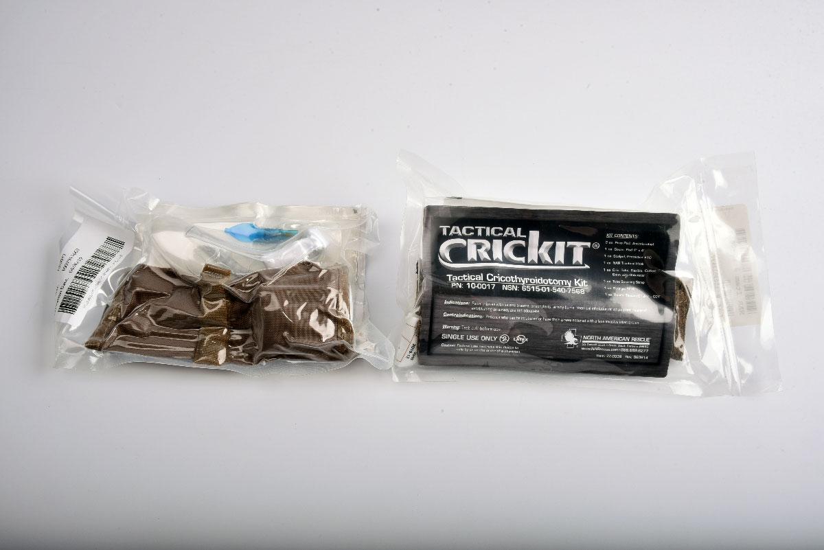 Набор для экстренной крикотиреоидотомии Tactical CRICKIT (одноразовый)