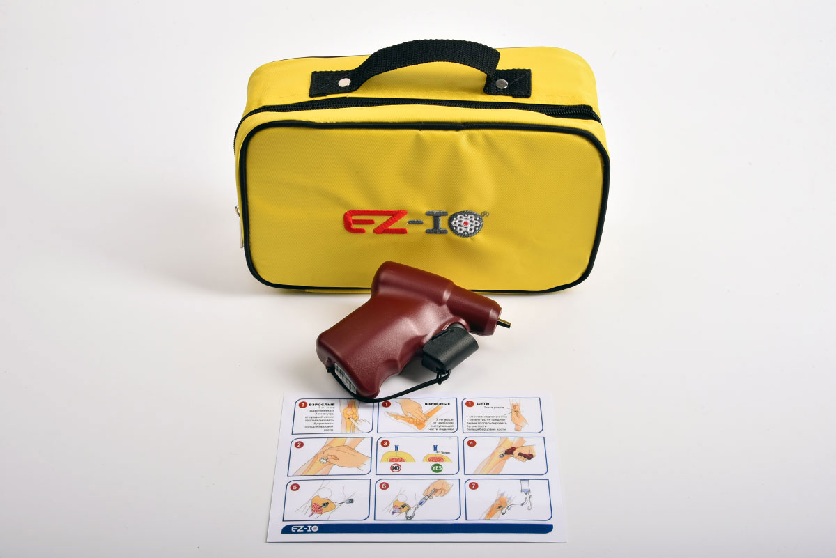 Система внутрикостного доступа EZ-IO