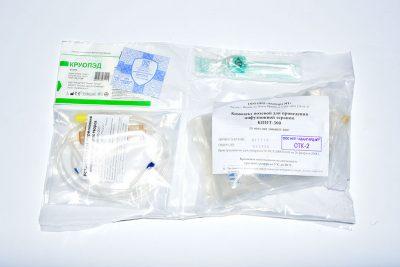 Комплект полевой для проведения инфузионной терапии (КПИТ) - 500мл