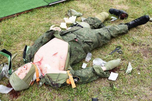 Симулятор ранений для отработки навыков оказания первой помощи марки ЗР-21 и ЗР-75